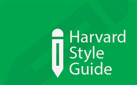 Harvard style referencing literature review